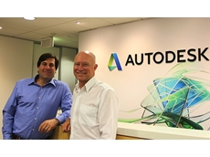 Rob Malkin, Autodesk AEC/ENI APAC Sales Director (left) with Martin Nix, Position Partners CEO (right).