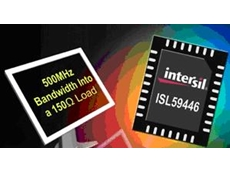 Intersil's new multiplexer enables switching between four different video inputs