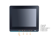 Axiomtek GOT110-316 - A 10.4-inch Fanless Touch Panel Computer with Peripheral Support for Diverse Range of Retail Applications