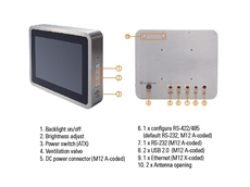Axiomtek's GOT810-845 stainless steel fanless touch panel computer