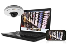 AXIS Camera Companion IP solution is ideal for various small businesses that need easy-to-use and future-proof video surveillance systems with HDTV quality