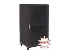 "Ausrack Floor onyX is a stylish 19"" cabinet"