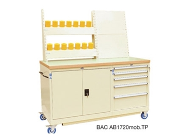 Clear and simple tool rack display storage options