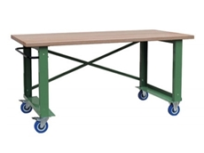 Strong and simple, basic Mobile Workbenches for industrial applications