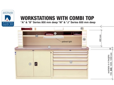 Integrated with Combi top for improved paper organisation and efficiency