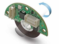 The new absolute encoder disk can be integrated easily into motors and actuators