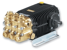 Heavy duty piston pumps