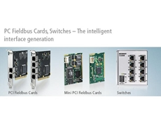PC Fieldbus Cards and Switches for real time tasks