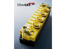 EP1908 EtherCAT Box for TwinSAFE system facilitates acquisition of 8 safety sensor signals directly on the machine or plant