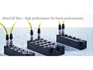 High performance EtherCAT Box for harsh environments