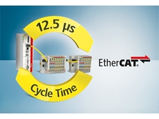 The EtherCAT PLC with a cycle time of just 12.5 μs