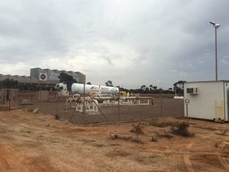 BOC gas was injected into a section of the Whyalla gas network to resume supply