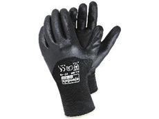 Flexible oil resistant workshop gloves