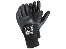 Flexible oil resistant workshop gloves