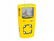 GasAlertMicroClip XT multi gas detectors are thin and lightweight