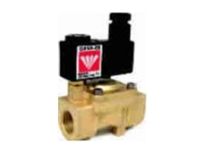 Pilot assisted diaphragm control valves