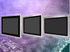 FABS-1XX Series food safety standard industrial displays from Aplex