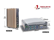 Neousys Technology's Nuvo-7501 and POC-515 industrial grade embedded PCs
