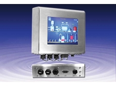 """Backplane Systems Technology introduces Aplex's APC-3098 8"""" Intel Atom Z510p stainless steel fanless panel PCs"""