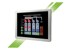 "Avalue's 15"" LPC-1503 touch panel PC"