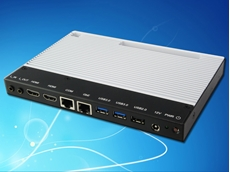 iBase Technology's ultra slim SI-12 digital signage player