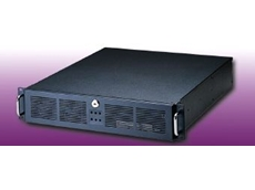 Compact rackmount industrial computer chassis