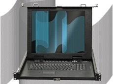 "Rackmount KVM Control Platforms have a 17"" TFT LCD screen"