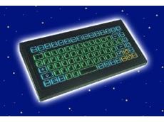 IP65 backlit industrial keyboard