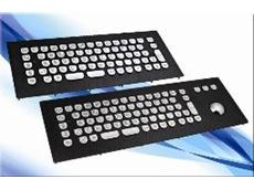 InduDur Vandal-Proof Carbon Industrial Keyboards