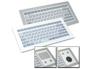 TKS Instrinsically Safe Panel Mount Keyboard