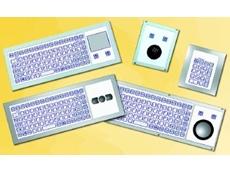 Modular industrial keyboards