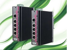 Neousys EDX-104 Series of 5 port PoE unmanaged Ethernet switches