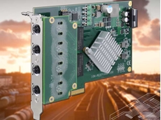 Neousys' PCIe-PoE312M is the world's first PCIe card with M12 x-coded connectors