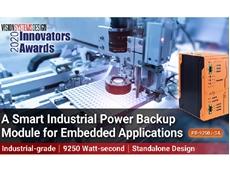 Neousys' PB-9250J-SA power backup module won the Vision Systems Design 2020 Innovators Award