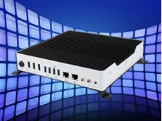 New Intel Core based fanless digital signage player with three HDMI outputs