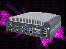 Nuvo-5501 compact rugged embedded PC powered by Intel's 6th Gen iCore processors