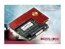 Pentium M board in PC/104plus format