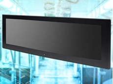The MRD-286 bar-type panel PC is ideal for passenger information system applications