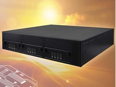 The iBase Signature Pro SP-63E is a multi-port video wall signage player