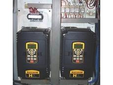 Baldor's smart AC motor drive allows Centrilift Cable to eliminate PLC