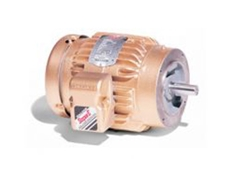 Super-E flange mount 3 phase AC motors feature an IP55 rated enclosure