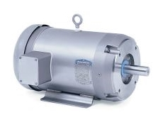 Wash-down duty 3 phase AC motors are ideal for food processing applications