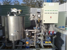 Baldwin skid mounted dissolved air flotation system