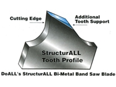 DoAll StructurAll Bandsaw blade