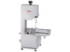 The Mainca BM1800 meat bandsaw from Barnco sales delivers clean cuts of meat.