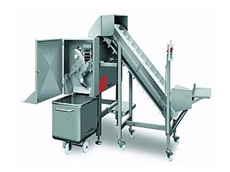 MS 120L automatic processing lines can process cubes, stripes, wafer thin pizza toppings and other delicate food items