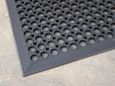 Anti slip/anti fatigue rubber mats