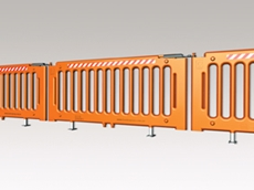 Post Q forklift and pedestrian safety barriers