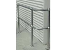 Ball-fence modular handrail system