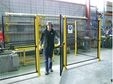 Restrict access to operational machinery and forklifts with De-Fence security fences